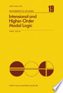 Intensional and Higher Order Modal Logic