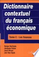 Dictionnaire contextuel du fran  ais   conomique