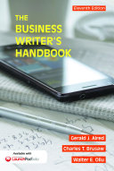 The Business Writer s Handbook
