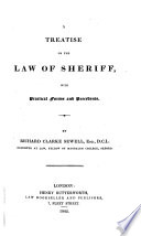 A Treatise On The Law Of Sheriff