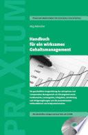 Handbuch f  r ein wirksames Gehaltsmanagement