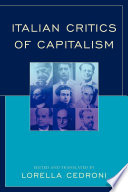 Italian Critics of Capitalism