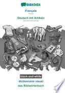 illustration BABADADA black-and-white, Français - Deutsch mit Artikeln, dictionnaire visuel - das Bildwörterbuch