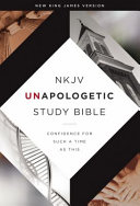 NKJV, Unapologetic Study Bible, Hardcover, Red Letter Edition Book Cover