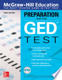 McGraw Hill Education Preparation for the GED Test  Third Edition
