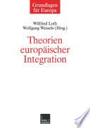 Theorien Europ Ischer Integration