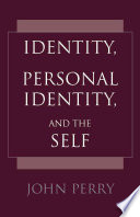 download ebook identity, personal identity, and the self pdf epub