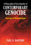 download ebook a biographical encyclopedia of contemporary genocide: portraits of evil and good pdf epub