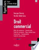 Droit Commercial 9e Ed