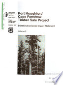 Tongass National Forest  N F    Port Houghton  Cape Fanshaw Timber Sale Project