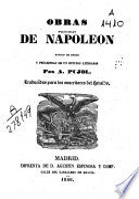 Obras Escogidas De Napole N