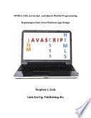 HTML5  CSS3  Javascript  JQuery Mobile Programming