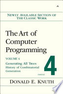 Art of Computer Programming  Volume 4  Fascicle 4 The