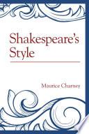 Shakespeare s Style