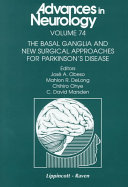 The Basal Ganglia and New Surgical Approaches for Parkinson's Disease