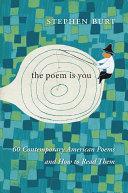 Ebook The Poem Is You Epub Stephen Burt Apps Read Mobile