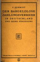 Der bargeldlose Zahlungsverkehr in Deutschland und seine Förderung