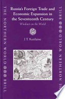 Russia s Foreign Trade and Economic Expansion in the Seventeenth Century