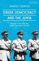 Greek Democracy and the Junta