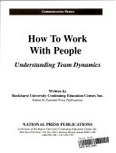 How to work with people
