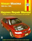 Nissan Maxima Automotive Repair Manual