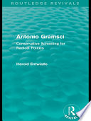 Antonio Gramsci  Routledge Revivals
