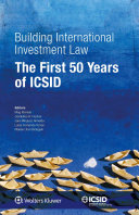 Building International Investment Law