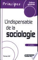 L indispensable de la sociologie