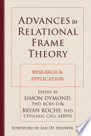 Advances In Relational Frame Theory book