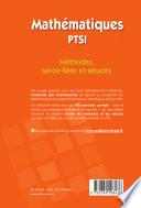 Mathématiques PTSI