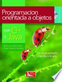 Programaci N Orientada A Objetos C Y Java