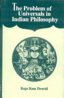 The Problem of Universals in Indian Philosophy