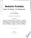 Musikalisches Wochenblatt0