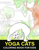 Yoga Cats Coloring Book For Kids