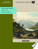 The Colonel's Dream (Volume 1 of 2 ) (EasyRead Super Large 24pt Edition)