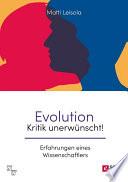 Evolution   Kritik unerw  nscht