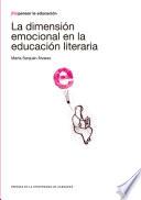 La dimensión emocional en la educación literaria