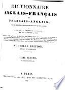 Dictionnaire Anglais-Francʹais et Francʹais-Anglais ...