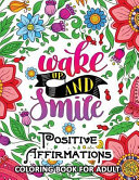 Positive Affirmations Coloring Books