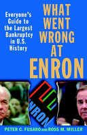 What Went Wrong at Enron