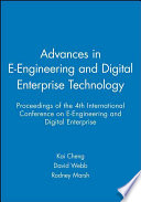 Advances in E Engineering and Digital Enterprise Technology
