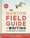 The Norton Field Guide to Writing  with Readings and Handbook