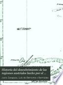Historia del descubrimiento de las regiones austriales hecho por el general Pedro Fernandez de Quirós