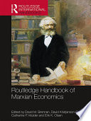 Routledge Handbook Of Marxian Economics book