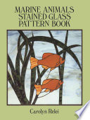 Marine Animals Stained Glass Pattern Book