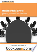 Management Briefs