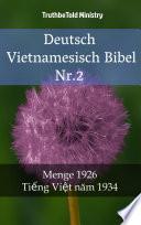 Deutsch Vietnamesisch Bibel Nr.2