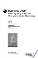 Hydrology 2020 Hydrological Science At The Beginning Of