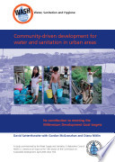 Community driven development for water and sanitation in urban areas  its contribution to meeting the Millennium Development Goal targets
