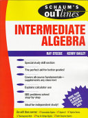 Schaum s Outline of Theory and Problems of Intermediate Algebra